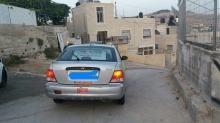يونداي - اكسنت  في  القدس 2002