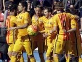 برشلونة يفوز على ليفانتي وينفرد بصدارة الدوري الاسباني