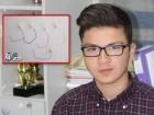 arabTV- الطالب بطرس معلم يتحدث عن ابتكاره الجديد
