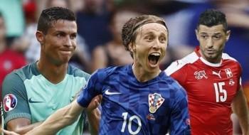 يورو 2016: البرتغال بمواجهة كرواتيا والويلز ضد إيرلندا الشمالية وسويسرا أمام بولندا