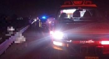 مصرع رجل (40 عاما) من جسر الزرقاء في حادث دهس قرب البلدة