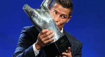 كريستيانو رونالدو أفضل لاعب في أوروبا بعد تفوقه على جاريث بيل وأنطوان جريزمان