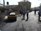 مصمص: تعبيد شارع حي الظهرة