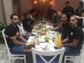 ادارة الاخاء عكا تدعو لاعبيها إلى وجبة عشاء قبل لقاء كفرسميع