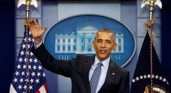 أوباما مودعاً الرئاسة: قدمت أفضل مشورة ممكنة لترامب والواقع الحالي بين الفلسطينيين والإسرائيليين خطر