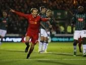 ليفربول يحقق فوزا هاما في كأس الاتحاد الإنجليزي على بليموث أرجايل