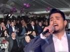 تقرير arabTV - أمير دندن يلهب الأجواء في مجد الكروم ودموع والدته تبارك خطواته