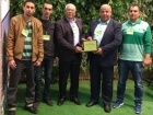 فوز طرعان بجائزة البلدة الخضراء