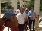 افتتاح المبنى الجديد لثانوية الشبلي أم الغنم