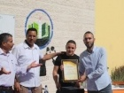 مركز شباب رهط يكرم طلاب ومعلمي مدرسة التقوى الثانوية