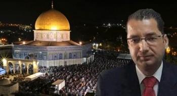 قيادي في فتح: زحف الفلسطينيين إلى الأقصى ليلة القدر هو تأكيد على إسلاميته وانتصار على هيمنة الاحتلال