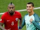 الليلة: نصف نهائي مرتقب بين البرتغال وتشيلي في كأس القارات ومواجهة بين رونالدو وفيدال