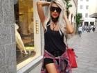 مايا دياب تستمتع بصيفها في ميلانو..صور