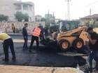 بلدية سخنين تقوم بتعبيد شارع حي الحزين