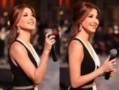 الجميلة نانسي عجرم تحيي مهرجان جرش في الأردن