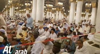 عدسة موقع العرب ترصد لكم الأجواء الإيمانية في المدينة المنورة بعد وصول عدد كبير من الحجاج