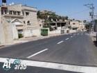 تعبيد الشارع الرئيسي في بلدة مشيرفة