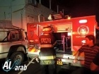 العفولة: اشتعال النيران في عريشة خشبية يسفر عن إصابتين وإحتراق منزل