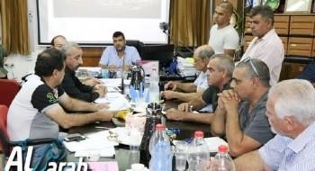 مجلس مجد الكروم المحلي يصوت بالإجماع ضد اقامة مركز للشرطة في البلدة