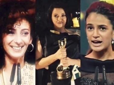 شادن قنبورة ومنى حوا تفوزان بجوائز التمثيل