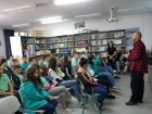 الناصرة: محاضرة لطلاب العواشر ضمن مشروع التداخل الاجتماعي في مدرسة العلوم والتكنولوجيا
