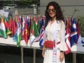 ميساء مغربي تشارك في مسيرة اليوم العالمي للتسامح في دبي