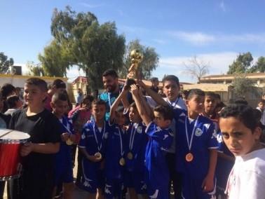 اختتام دوري كرة القدم في مدارس قرية السيد