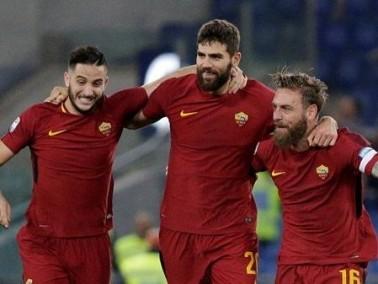روما يحقق فوزا صعبا على كالياري في الدوري الإيطالي