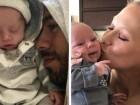 إنريكي إغليسياس وآنا كورنيكوفا يكشفان عن توأميهما
