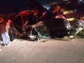 اصابة شخص بجراح طفيفة في حادث طرق قرب مفرق عيلوط يتسبب بإزدحامات مرورية