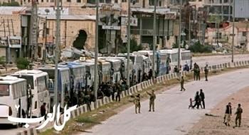 جيش الأسد يسيطر على أكثر من 90% من الغوطة بخروج آخر مقاتلي المعارضة من حرستا