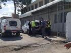 الشرطة تخرج اغراضها من بناية طوماشين في باقة