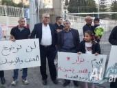 الناصرة: تظاهرة أمام مركز الشرطة ضد العنف والجرائم بعد مقتل نزار جهشان بدم بارد