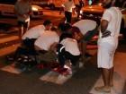 اعبلين: اصابة سائق دراجة نارية بجراح بعد تعرضه لحادث تصادم مع سيارة خصوصية