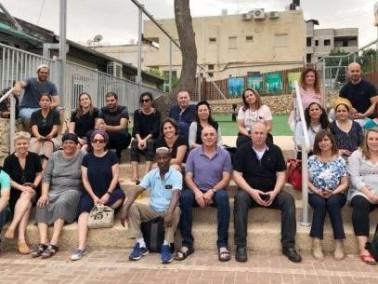 لقاء يهودي عربي بين ثانوية العلوم والتثقيف الزراعي الرامة وثانوية هوديوت