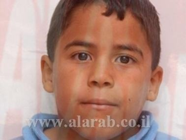 مصرع ابراهيم يوسف سواعد ( 7 سنوات ) من وادي سلامة بعد تعرضه لحادث دهس في سخنين