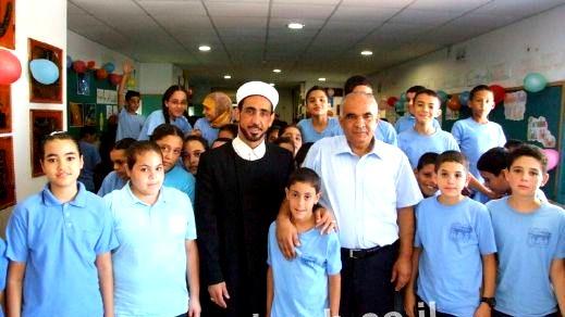 ابتدائية المزرعة تستضيف الشيخ عاصي