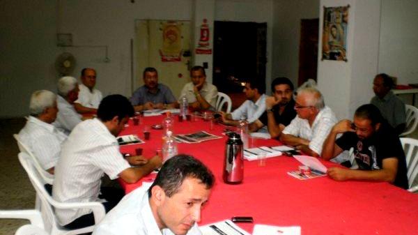 اللجنة الشعبية بالطيبة تضع اللمسات الاخيره لانجاح الإضراب