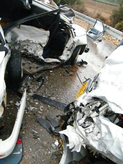 مصرع شخص من الضفة الغربية في حادث طرق مروع على طريق العفولة