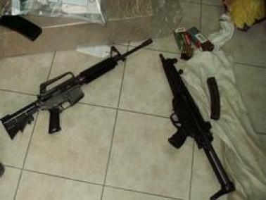 خلال الحملة لمحاربة فوضى السلاح: العثور على بندقية وذخيرة في كرم زيتون قرب عرابة
