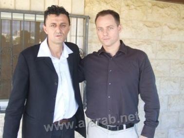 باسر يحل ضيفا على عضو في حزب كديما قفطان حلبي