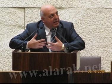 النائب د. عفو إغبارية يناقش في الكنيست أزمة الاكتظاظ