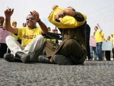 كفرقرع: إضراب وتظاهرة رفع شعارات
