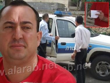 مجهولون يضعون رسالة تهديد بالقتل لعضو المجلس الجبهاوي