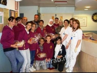أسرة مدرسة الرسالة في نحف تحتفل بيوم الأم