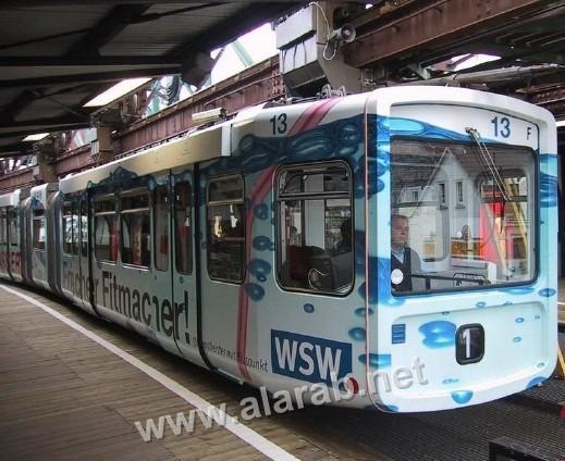 صور قطارات 2010 ..تمشي على سكك حديدية مقلوبة
