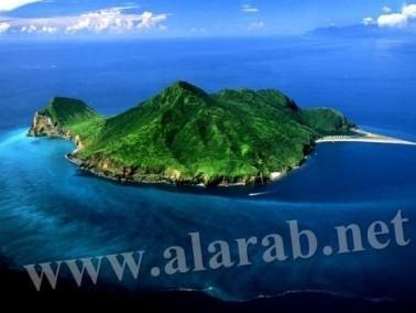 جزيرة السلحفاة التايوانية العائمة تبعدك عن الضغط