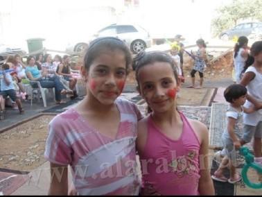 أطفال عيلبون يحتفلون بمناسبة يوم الطفل العالمي