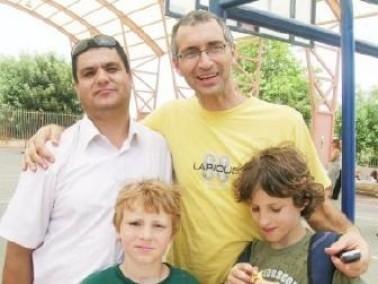 مشروع التعايش بين طلاب جسر الزرقاء وقيساريا