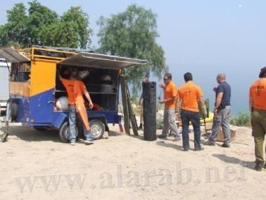غرق شاب من الجنوب (25 عاماً) في بحيرة طبريا
